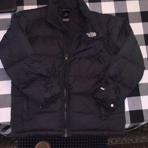 Boys The North Face Down 550 Jacket
